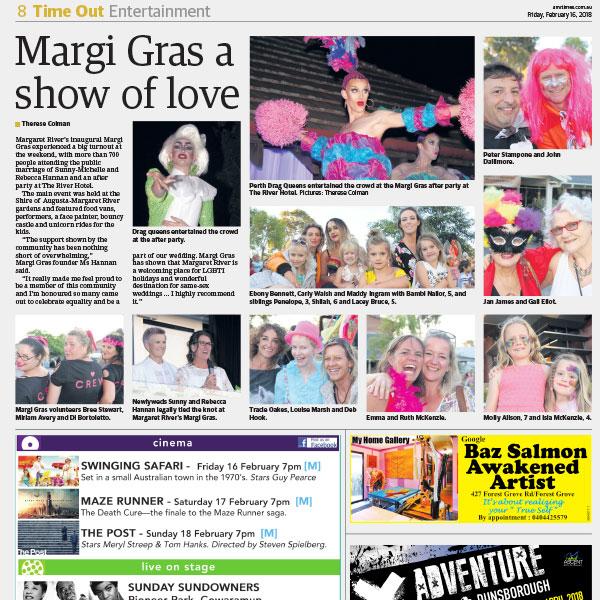 1st Margi Gras